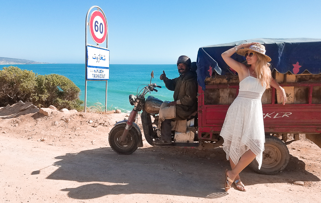 motor tricycle Morocco