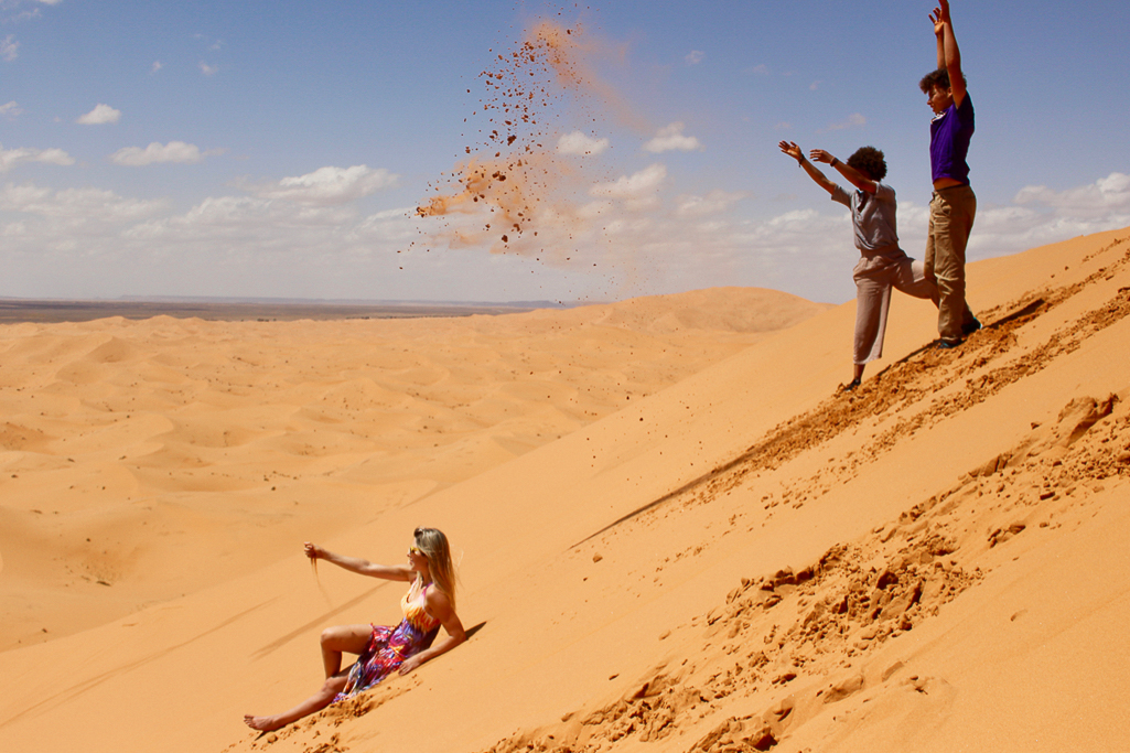 sahara with kids