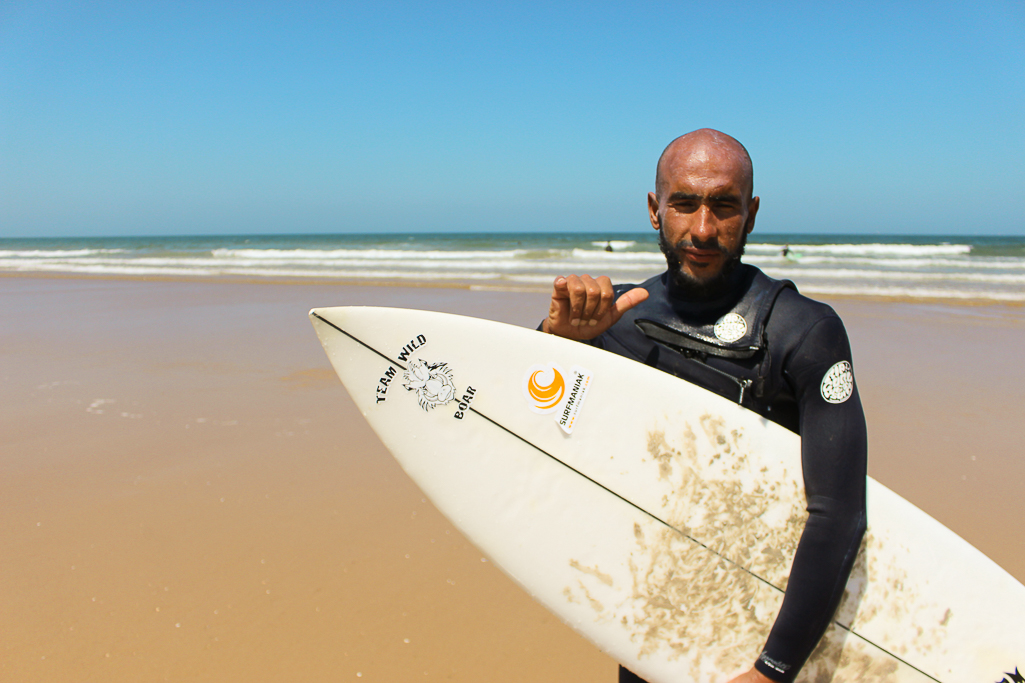 surf instructor Agadir